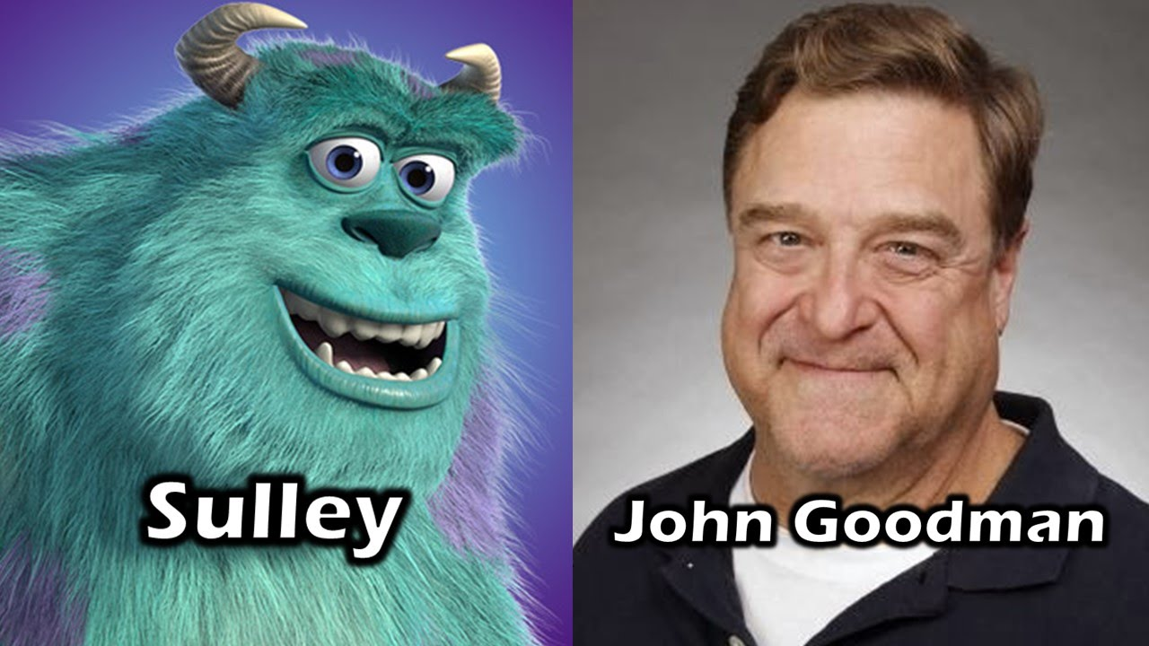 Characters And Voice Actors Monsters Inc Youtube
