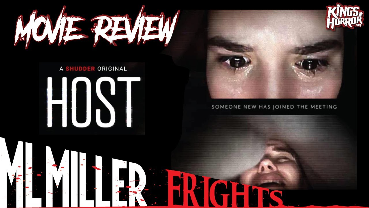 Shudder's HOST (2020) Review! Timely, Topical, Terrifying!