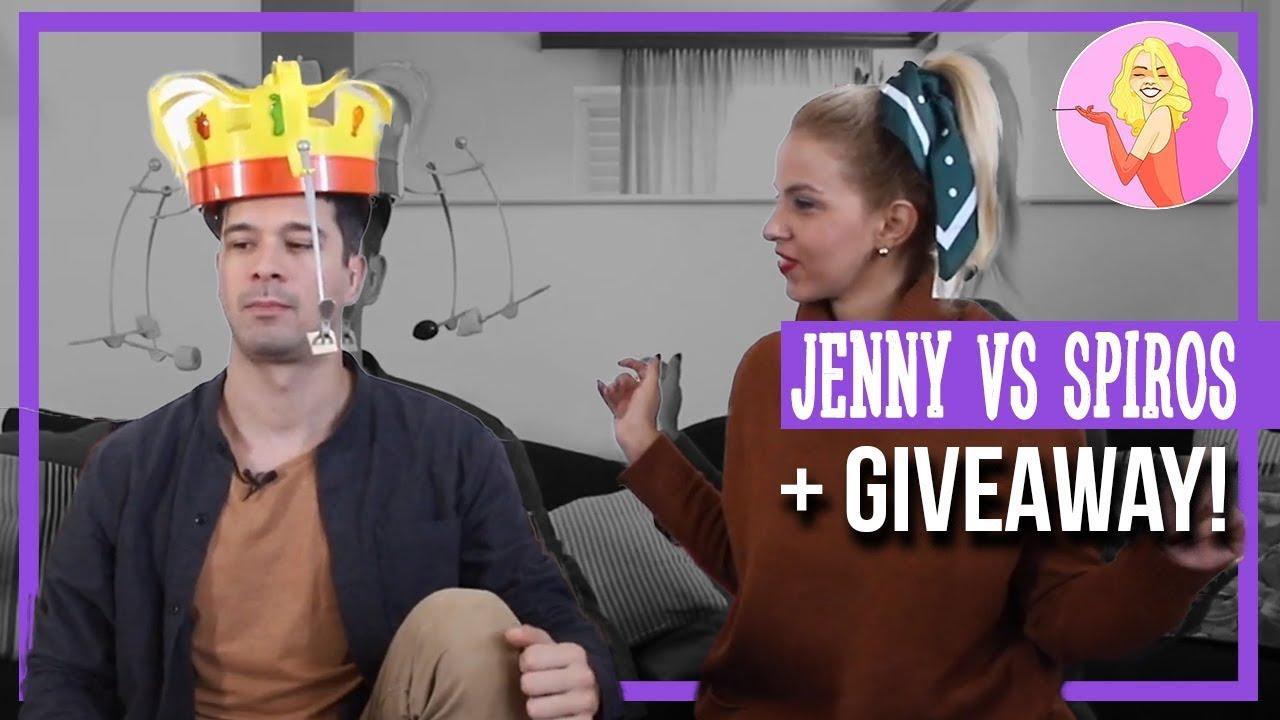 Jenny VS Spyros - Ποιος θα πλύνει τα πιάτα;