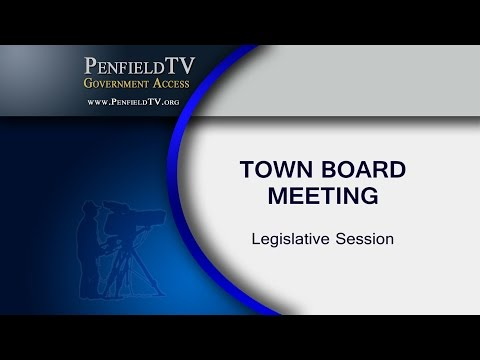 2016-07-06 PEN Town Brd Legislative Meeting