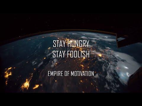 STAY HUNGRY STAY FOOLISH | STEVE JOBS MOTIVATION