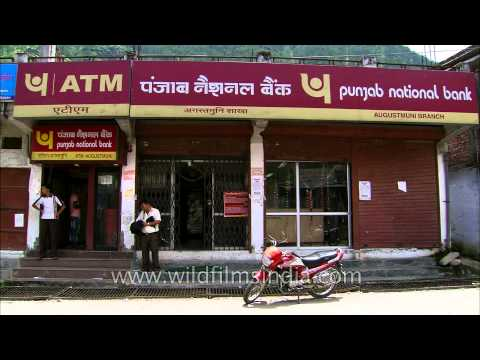 Punjab National Bank ATM And Branch Function Through The Uttarakhand Floods