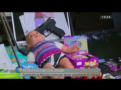 Servidor público é preso por pedofilia | Jornal SBT Brasília 10/08/2018