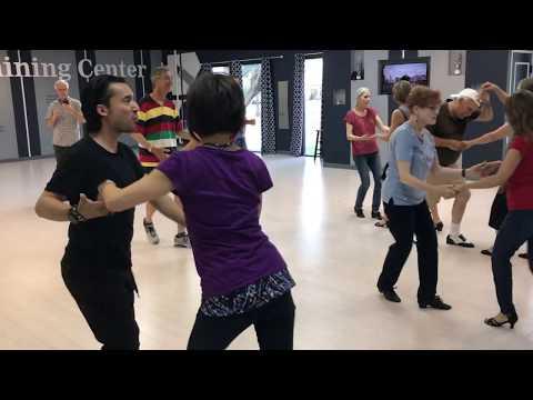 USA Dance Dallas Salsa Flash Mob Practice at Dancesport Training Center in Dallas, TX