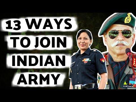 13 Ways To Join Indian Army As An Officer -  भारतीय सेना कैसे ज्वाइन करें?