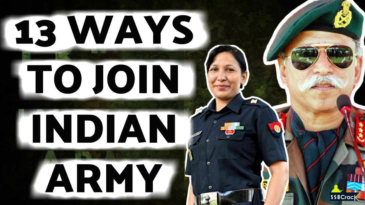 13 Ways To Join Indian Army As An Officer