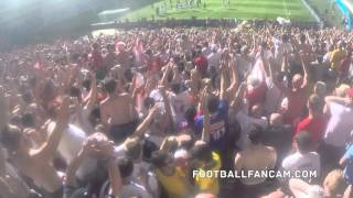 England fans sing HEY JUDE in Belo Horizonte, Brazil World Cup
