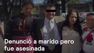 Asesinada denunció a marido y no hicieron nada En Punto con Denise Maerker