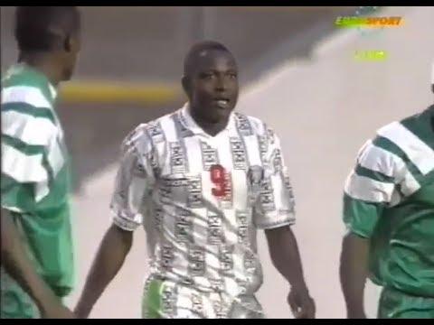 Rashidi Yekini Vs Zambia ● 1994 African Cup Of Nations Final