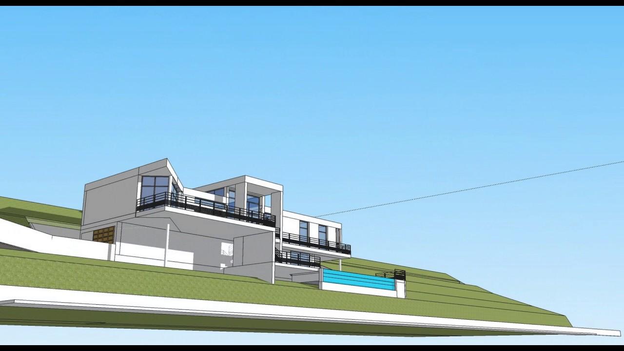 Projet Maison Contemporaine Dans L Arriere Pays Nicois