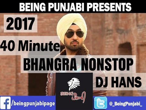 40 minute Bhangra Mashup 2017 - DJ Hans | Non Stop Punjabi Dance Songs | New Bhangra Megamix 2017 Mp3