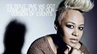 Repeat youtube video Emeli Sandé - Read All About It (pt III) [Lyrics On Screen]