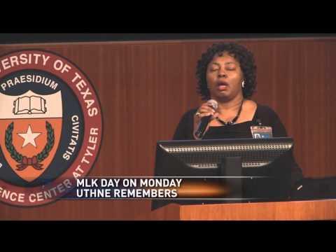 UT Health Northeast: remembering MLK