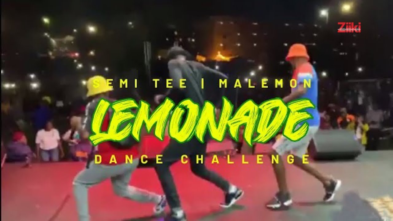 Lemonade Challenge by Semi Tee ft. Malemon (Dance Challenge Video)