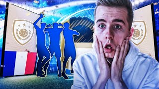 TRAFIŁEM 3 IKONY!!! PACZKI Z GWARANTOWANĄ IKONĄ! | FIFA 18 PACK OPENING