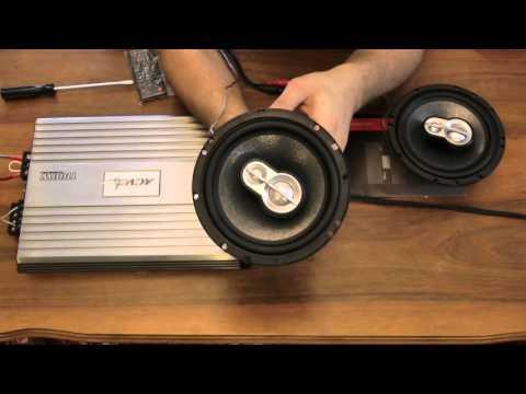Усилитель ACV LX-4.60S и колонки ACV MF-633 *16.5 см