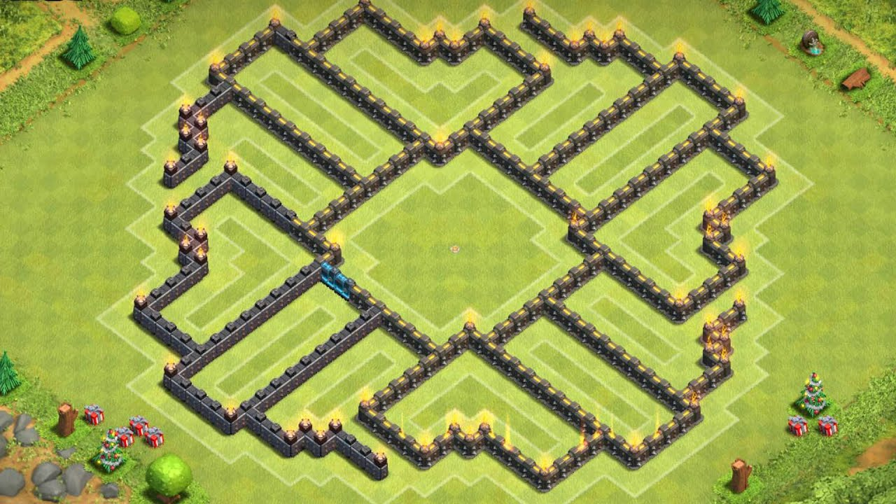 Of clans quot new update quot th9 farming base coc best town hall 9