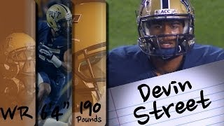Official Highlights | Pittsburgh WR Devin Street