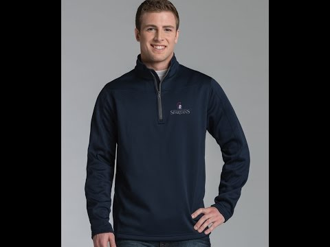 Charles River Apparel Style 9492 Stealth Zip Pullover Sweatshirt