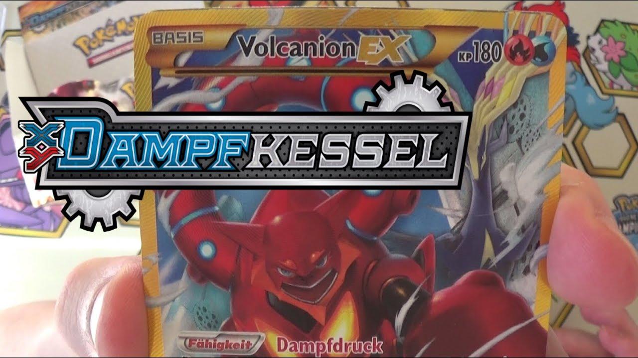 XY11 Dampfkessel Pokémon Booster Display Unboxing! Teil 1 von 2 ...
