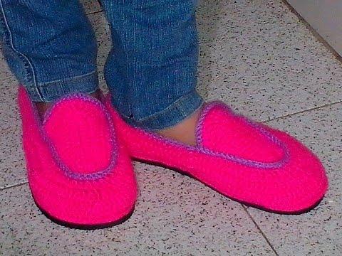 Como Hacer Zapatos En Crochet Todas Las Tallas