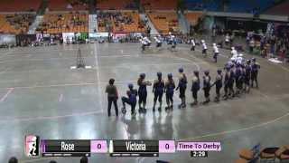 WFTDA Roller Derby: 2014 Division 1 Playoffs, Charleston: Rose City vs. VRDL
