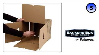 Bankers Box® Earth Series Heavy Duty Box - Assembly Demo