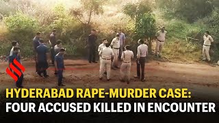 Hyderabad: four rape-murder accused shot dead by police