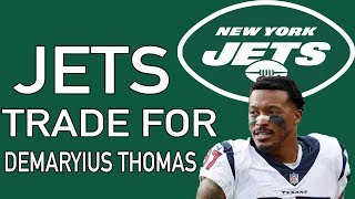New York Jets Trade For Demaryius Thomas