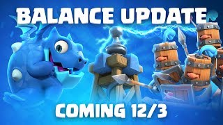 Clash Royale: Balance Update Live! (12/3)