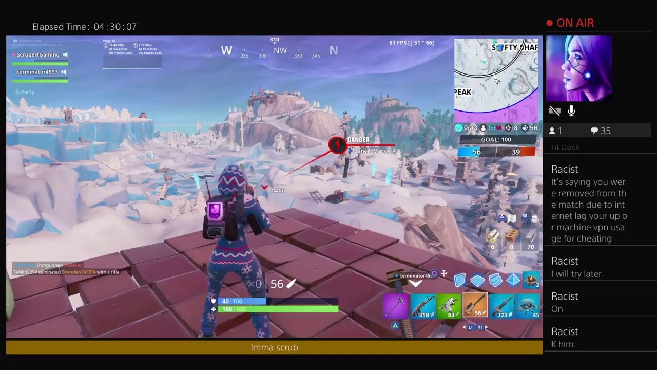 Fortnite (Im bored) ~~ Road to 600 subs