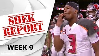 Top 3 Fails of Week 9 | Shek Report | NFL