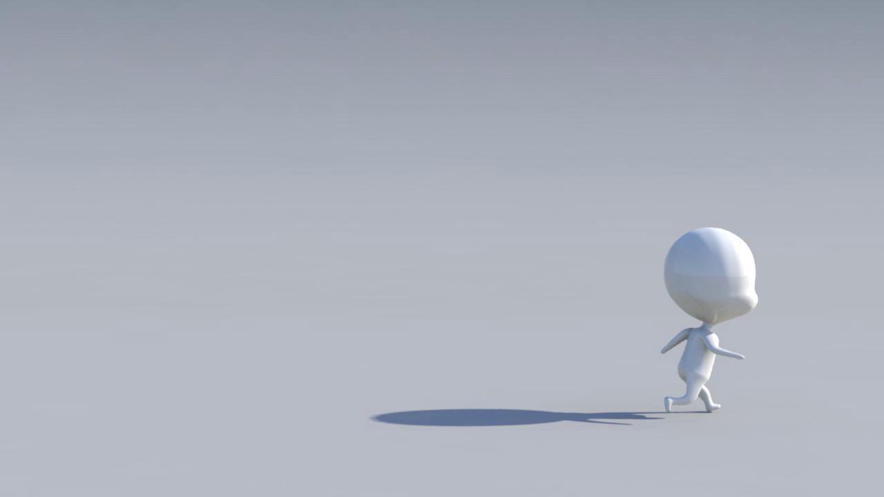 Running Cycle - Chibi Animation Short
