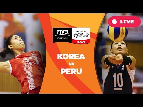 Korea v Peru - 2016 Womens World Olympic Qualification Tournament