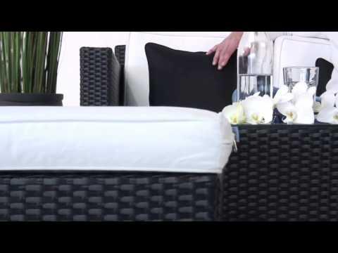 Luxury Deluxe Rattan Lounge