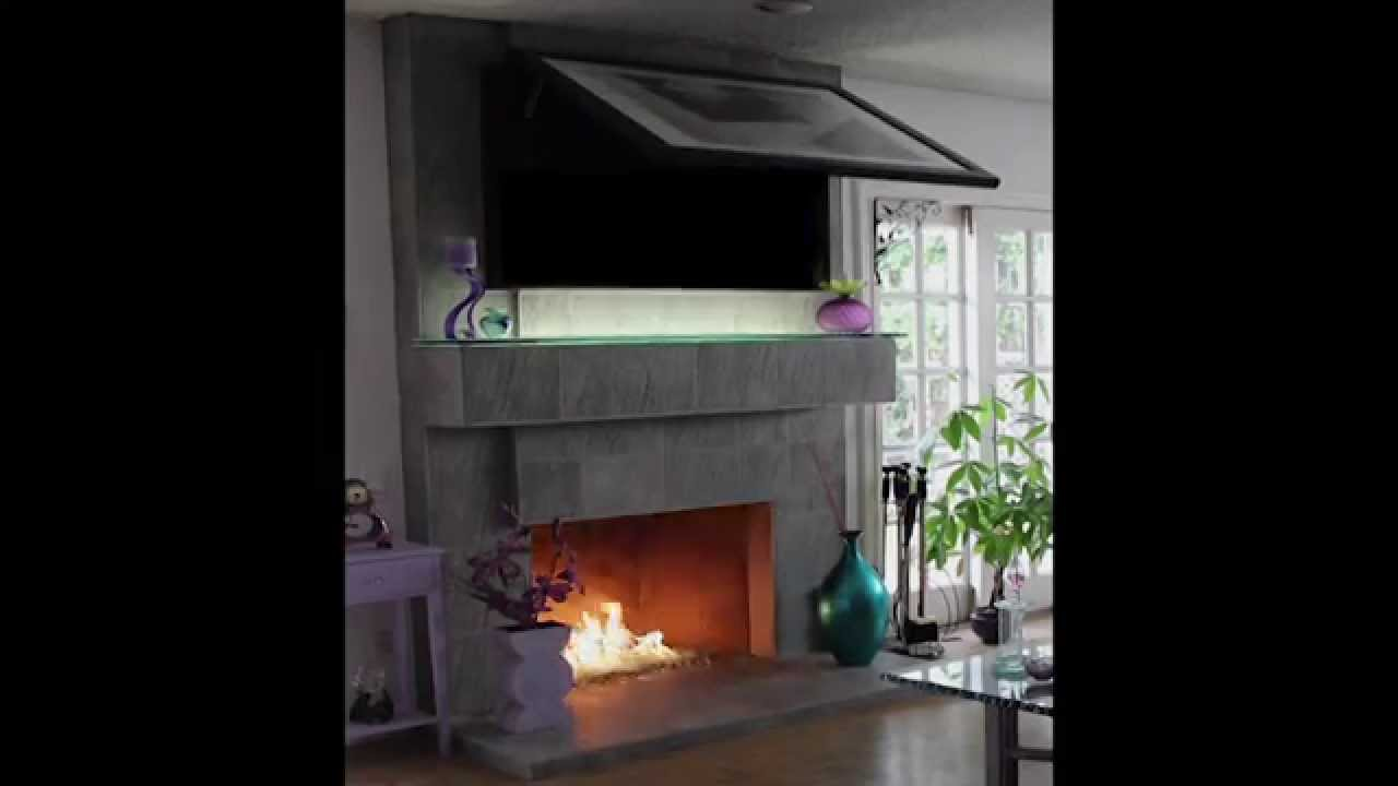 Frame TV with Motorized Lift ! - YouTube
