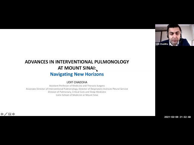 Advances in Interventional Pulmonology at Mount Sinai: Navigating New Horizons