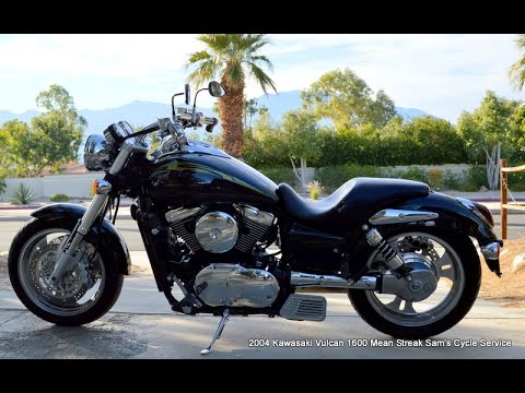2004 Kawasaki Vulcan 1600 Mean Streak Vn1600 For Sale Wwwsamscycle