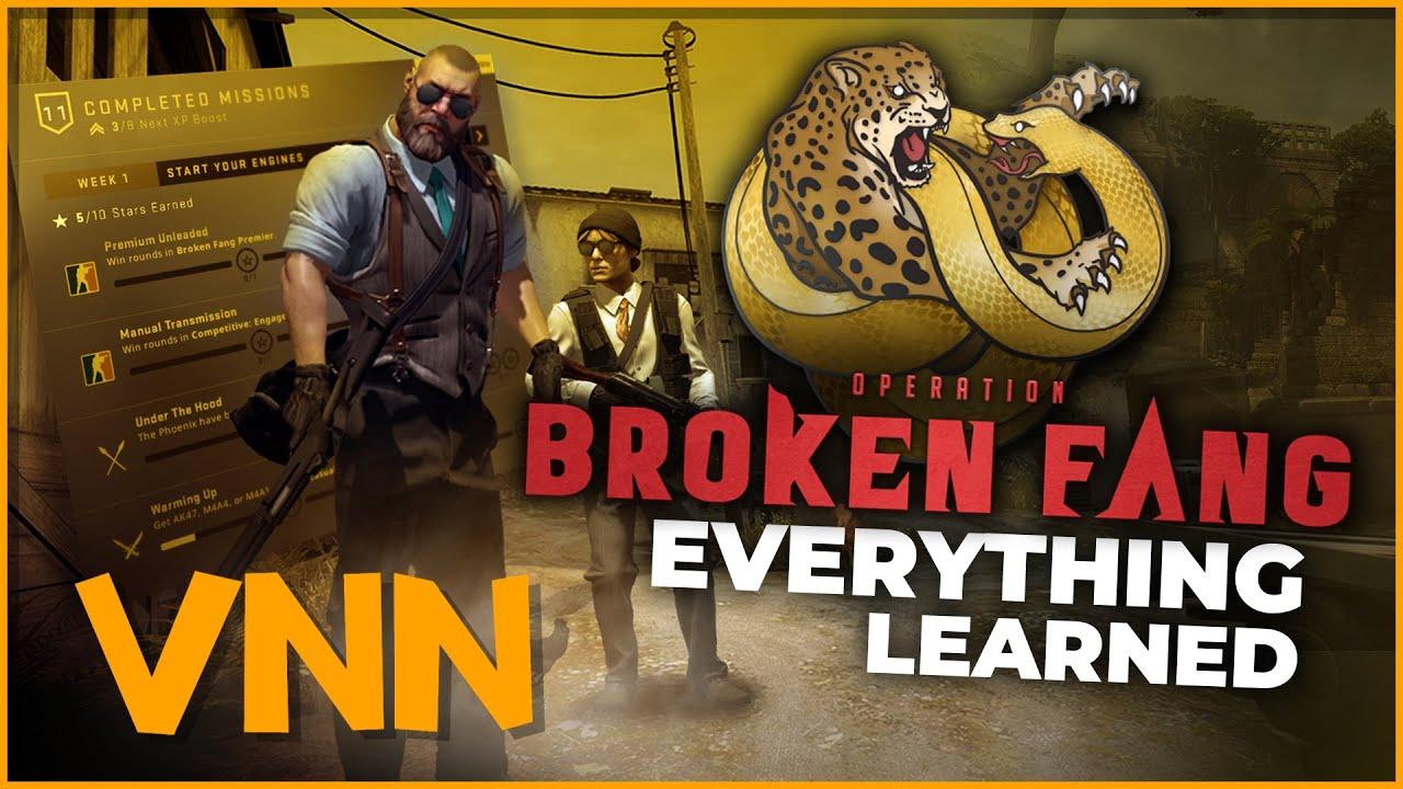CS:GO Operation 10: Broken Fang Explained