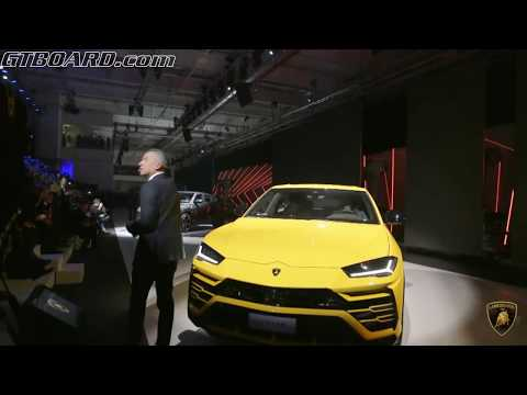 Lamborghini Urus 641 HP WORLD PREMIERE Super Sport Utility Vehicle