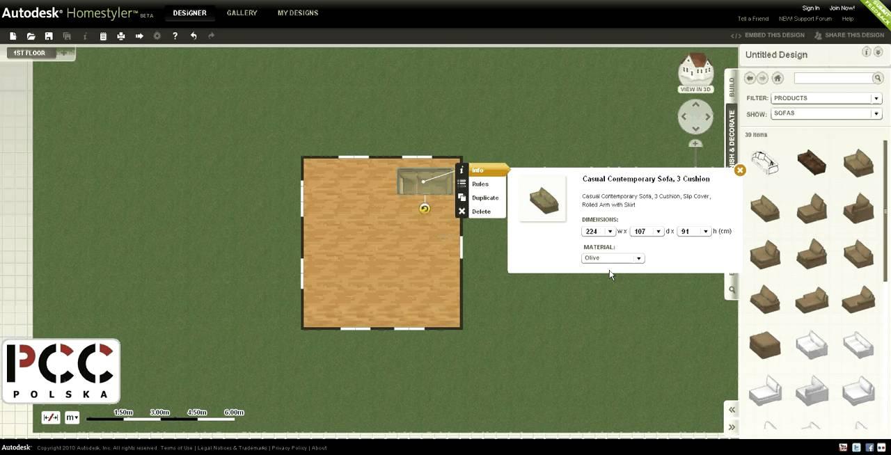 Autodesk Homestyler Program Do Aran Acji Projekotowania
