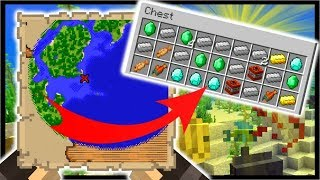 Minecraft 1.13 NEW Buried TREASURE Maps, Tropical Fish, Coral | Aquatic Update (18w10a)