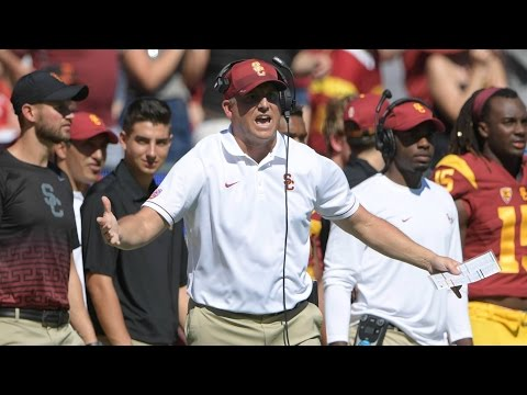 Matt Leinart On USC's Clay Helton | CampusInsiders