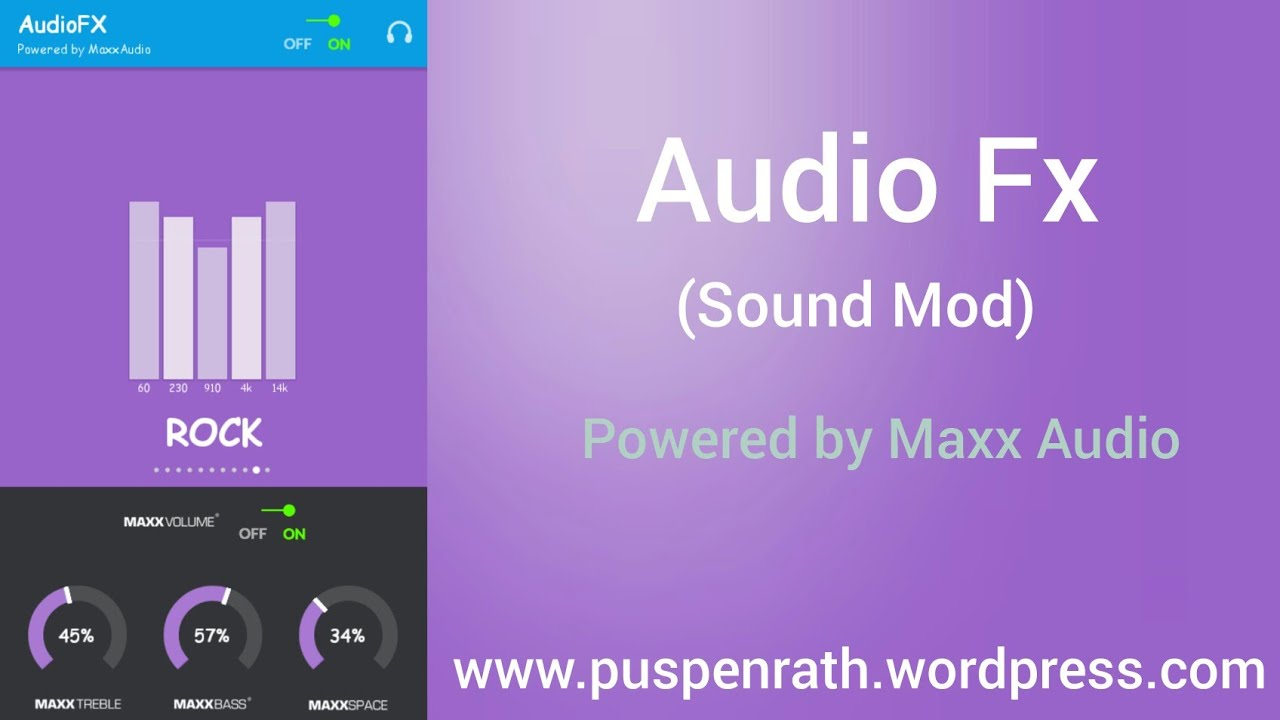 Audio Fx [Sound Mod] Powered by Maxx Audio (From CM 12 1)