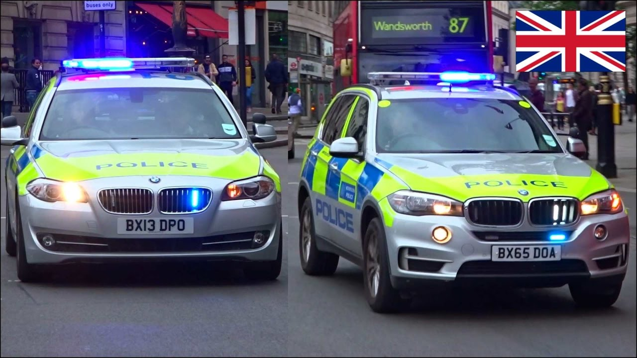 Police Cars Responding X3 Bmw 5 Series Amp Armed Police