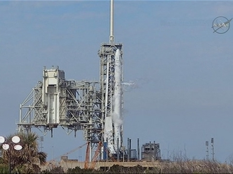 SpaceX Launch Halted Just Before Liftoff