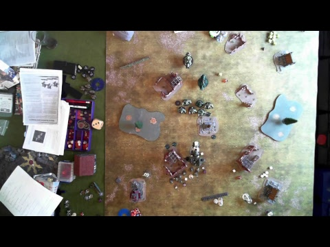 Gates of Antares Interactive Battle Report - Ghar Vs Concord - 1000 points