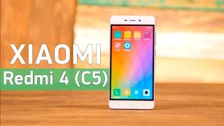 Xiaomi Redmi 4 (C5) - недорогой смартфон с хорошим оснащением - Видео демонстрация