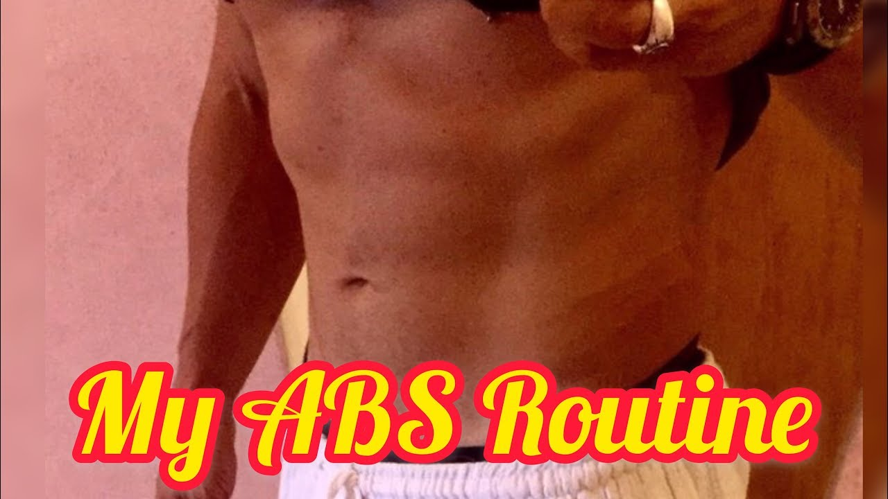 My ABS routine - YouTube