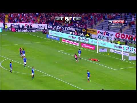 Gol de M. Caraglio   Atlas 1 - 0 Querétaro   Liga MX - Clausura 2018 - Jornada 15   AtlasFC